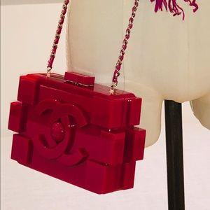 CHANEL Bags - Chanel Lego Plexiglass Miniaudiere **Brand New**